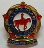 CPC 10 Year Volunteer Pin