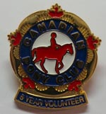 CPC 5 Year Volunteer Pin